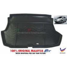Toyota Vios ( 2nd Gen ) 2008-2013 Custom Fit Original PE Non Slip Rear Trunk Boot Cargo Tray