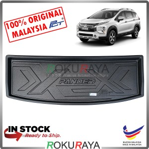 Mitsubishi Xpander 2019 Custom Fit Original PE Non Slip Rear Trunk Boot Cargo Tray