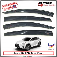 Lexus NX200 NX300 NX350 AZ10 AG Door Visor Air Press Wind Deflector (Big 12cm Width)