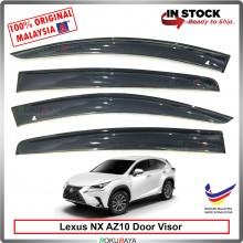 Lexus NX200 NX300 NX350 AZ10 AG Door Visor Air Press Wind Deflector (Big 12cm Width)