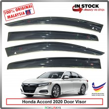 Honda Accord (10th Gen) 2020 AG Door Visor Air Press Wind Deflector (Big 12cm Width)