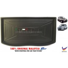 Perodua Myvi ( 1st 2nd Gen ) 2005-2017 Custom Fit Original PE Non Slip Rear Trunk Boot Cargo Tray