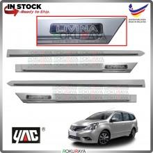[TUNGSTEN SILVER] Nissan Grand Livina Original Side Door Moulding Garnish Body Lining Panel