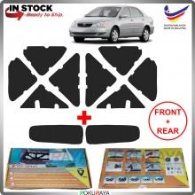 [MACHINE CUT] Toyota Altis 2000-2007 FRONT & REAR Carfit Vibramat Boot Trunk Bonnet Deadening Sound Proof Heat Insulation Mat