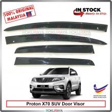 Proton X70 SUV AG Door Visor Air Press Wind Deflector (Flat 10cm Width)
