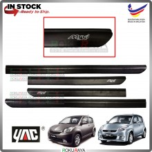 Perodua Myvi (1st Gen) 2005-2010 Rubber Black Side Door Moulding Garnish Body Lining Panel