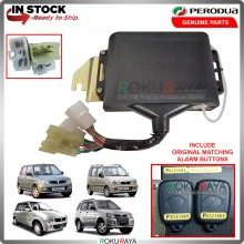 Perodua Kancil Kelisa Kenari Kembara Original Security Alarm Immobilizer with 2PCS Matching Ori Button