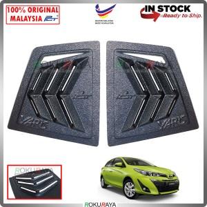 Toyota Yaris 2019 Mustang Rear Triangle Side Window Mirror Cover Louvre Air Terjun