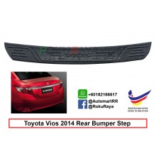 Toyota Vios (3rd Gen) 2013-2018 Custom Fit Original ABS Car Rear Bumper Step Scratch Guard Garnish Protector