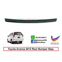 Toyota Avanza ( 2nd Gen ) 2011  Custom Fit Original ABS Car Rear Bumper Step Scratch Guard Garnish Protector
