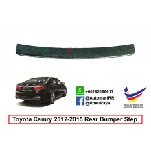 Toyota Camry XV50 2011- 2014 Custom Fit Original ABS Car Rear Bumper Step Scratch Guard Garnish Protector (CHROME LINING)