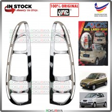 [CHROME] Hyundai Inokom Atos Prima ABS Plastic Rear Tail Lamp Garnish Moulding Cover Car Accessories Parts