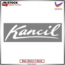 KANCIL (5inch x 1.5inch) Original Perodua Sticker White Emblem Logo Badge Sticker Decals Vinyls Car Accessories Parts