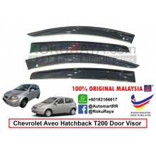 Chevrolet Aveo Hatchback ( 1st Gen ) 2002-2008 T200 AG Door Visor Air Press Wind Deflector (Big 12cm Width)