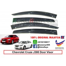 Chevrolet Cruze ( 1st Gen ) 2008–2016 J300 AG Door Visor Air Press Wind Deflector (Big 12cm Width)