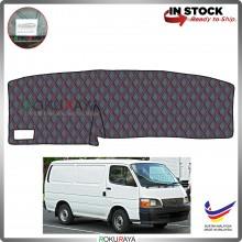 [RED LINE] Toyota Hiace H100 Old RR Dashboard Cover Leather PU PVC Black Car Accessories Parts