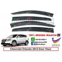Chevrolet Orlando AG Door Visor Air Press Wind Deflector (Big 12cm Width)