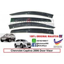 Chevrolet Captiva ( 1st Gen ) 2006 AG Door Visor Air Press Wind Deflector (Big 12cm Width)