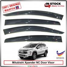 [11cm WIDTH] Mitsubishi Xpander NC SUV AG Door Visor Air Press Wind Deflector Car Accessories Local Parts