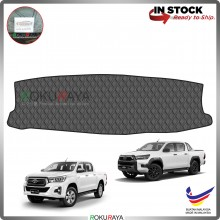 [BLACK LINE] Toyota Hilux Revo Rogue Rocco New RR Dashboard Cover Leather PU PVC Black Car Accessories Parts