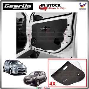 Perodua Myvi Old Gear Up Door Comfort Vibramat Deadening Sound Proof Heat Insulation Mat Car Accessories