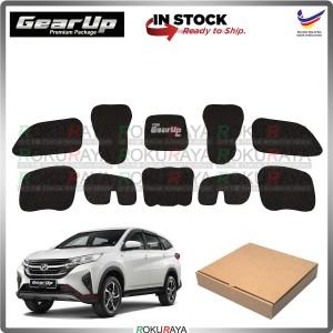 Perodua Aruz GEAR UP Hood Insulator Front Bonnet Vibramat Deadening Sound Proof Heat Insulation Mat Car Accessories