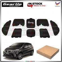 Perodua Myvi New GEAR UP Hood Insulator Front Bonnet Vibramat Deadening Sound Proof Heat Insulation Mat Car Accessories