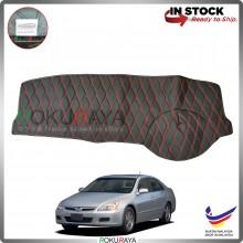 [RED LINE] Honda Accord SDA 2002-2007 RR Dashboard Cover Leather PU PVC Black Car Accessories Parts
