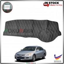 [BLACK LINE] Honda Accord SDA 2002-2007 RR Dashboard Cover Leather PU PVC Black Car Accessories Parts