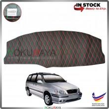[RED LINE] Naza Ria Kia Carnival Old RR Dashboard Cover Leather PU PVC Black Car Accessories Parts