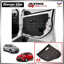 Perodua Axia Bezza Gear Up Door Comfort Vibramat Deadening Sound Proof Heat Insulation Mat Car Accessories