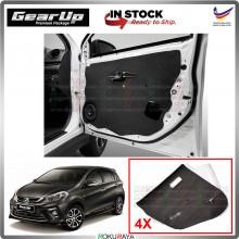 Perodua Myvi VVTi 2018 New Gear Up Door Comfort Vibramat Deadening Sound Proof Heat Insulation Mat Car Accessories