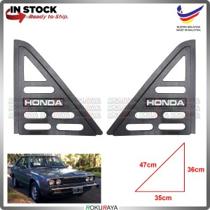 Honda Accord 1st 2nd Gen Vintage Rear Triangle Side Window Mirror Cover Car Accessories Parts
