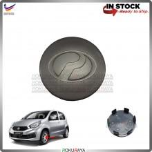 [TITANIUM] Perodua Myvi Lagi Best Icon SE Extreme Alza Advance Sport Rim Center Wheel Cap Cover Ornament DARK GREY