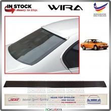 [SEDAN] Proton Wira MDM JD2 PU Rubber Getah Wing Glass Spoiler Rear Windscreen Black