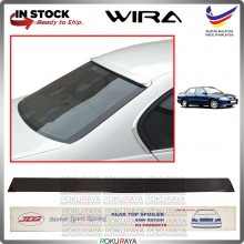 [AEROBACK] Proton Wira MDM JD2 PU Rubber Getah Wing Glass Spoiler Rear Windscreen Black