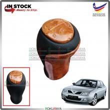 [WOOD WALNUT] Proton Waja Original Manual Transmission Gear Shift Knob Car Accessories Local Parts