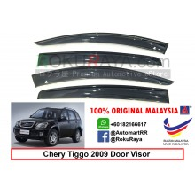 Chery Tiggo 2009 AG Door Visor Air Press Wind Deflector (Big 12cm Width)