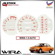 [1.5 AUTO] Proton Wira Satria Putra WHITE RED Meter Panel Garnish Decoration Cover Car Accessories Parts