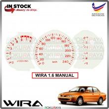 [1.6 MANUAL] Proton Wira Satria Putra WHITE RED Meter Panel Garnish Decoration Cover Car Accessories Parts