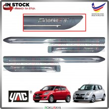[METALLIC SILVER] Suzuki Swift Old Sports Original Side Door Moulding Garnish Body Lining Panel Car Accessories Parts