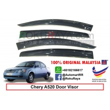 Chery A520 A5 AG Door Visor Air Press Wind Deflector (Big 12cm Width)