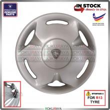 [ORGINAL] Proton Waja Wira Saga Iswara R13'' Inch Harimau Car Wheel Cover Tyre Center Hub Cap Steel Rim Car Accessories