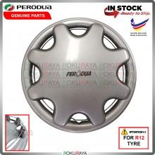 [ORGINAL] Perodua Viva Kancil New Old Belalang Petak R12'' Inch Car Wheel Cover Tyre Center Hub Cap Steel Rim Car