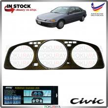 [CARBON KEVLAR] Honda EG SR4 TYPE R SPOON MUGEN Manual Automatic Meter Panel Garnish Decoration Cover Car Accessories Parts
