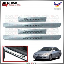 [BESI] Honda Accord SDA Stainless Steel Chrome Side Sill Kicking Plate Garnish Moulding Cover Trim Car Accessories