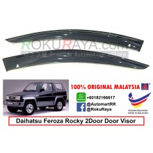 Daihatsu Feroza 2Door AG Door Visor Air Press Wind Deflector (Small 7cm Width)