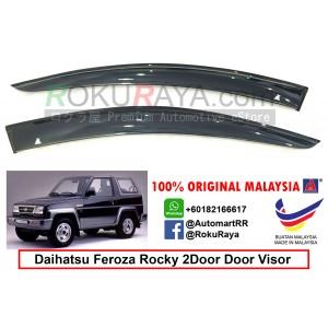 Daihatsu Feroza 2Door AG Door Visor Air Press Wind Deflector (Small 7cm Width)