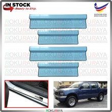 [BESI] Isuzu Invader Rodeo TF Stainless Steel Chrome Side Sill Kicking Plate Garnish Moulding Cover Trim Car Accessories