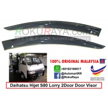 Daihatsu Hijet S80 Pickup Lorry 2Door AG Door Visor Air Press Wind Deflector (Small 7cm Width)
